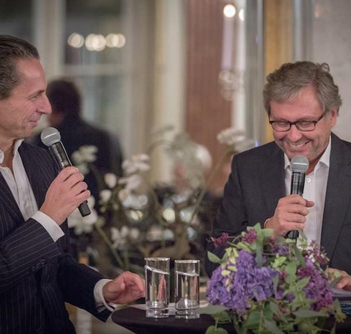 Profil-Herausgeber Christian Rainer und ORF-Generaldirektor Alexander Wrabetz 17
