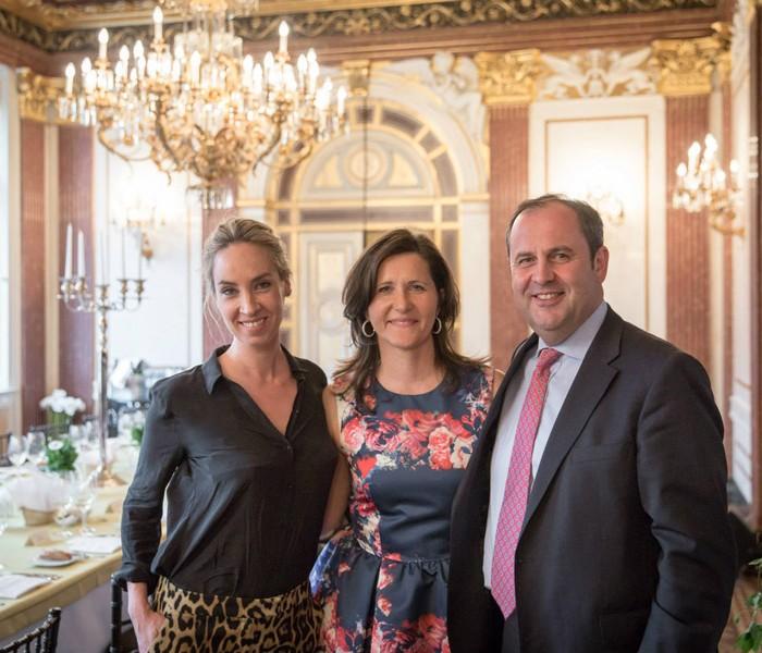 TV-Journalistin Nadja Bernhard und Ex-Finanzminister Sepp Pröll 19