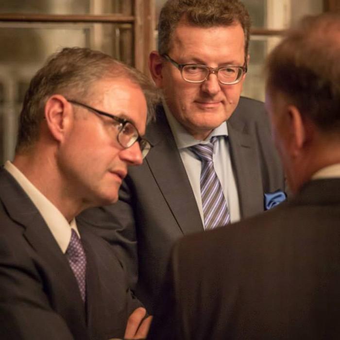 Rainer Nowak und CEO der ÖBB Christian Kern 27