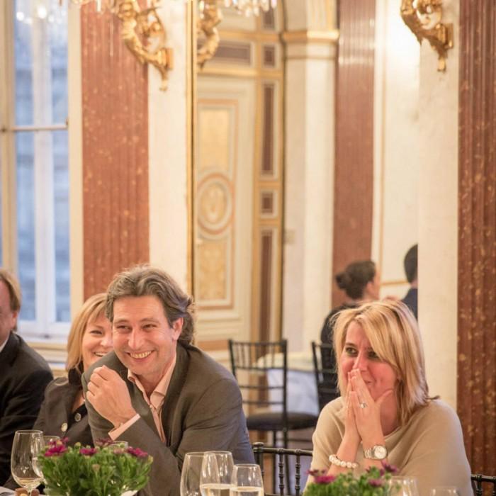 TV-Journalistin Nadja Bernhard und Ex-Finanzminister Sepp Pröll 18