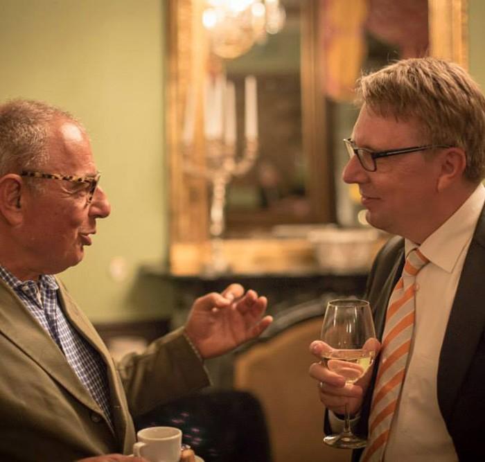 Rainer Nowak und CEO der ÖBB Christian Kern 26