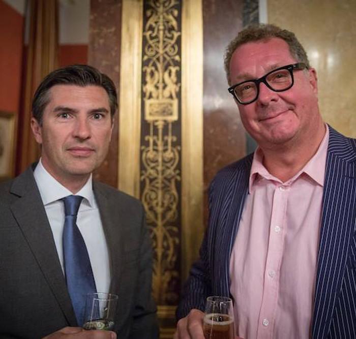 Profil-Herausgeber Christian Rainer und ORF-Generaldirektor Alexander Wrabetz 13