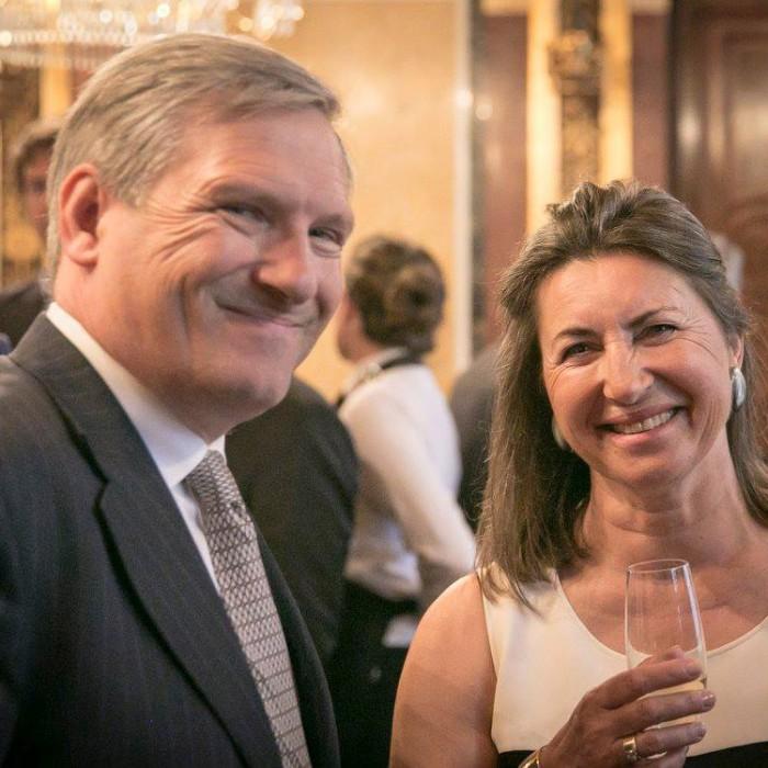 ORF-Chefredakteur Fritz Dittlbacher und ÖNB-Präsident Claus Raidl 10