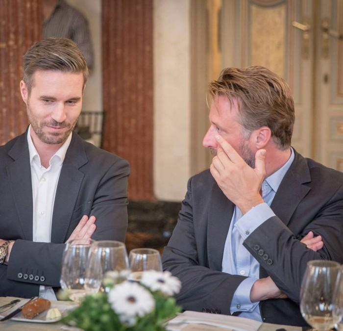TV-Journalistin Nadja Bernhard und Ex-Finanzminister Sepp Pröll 16