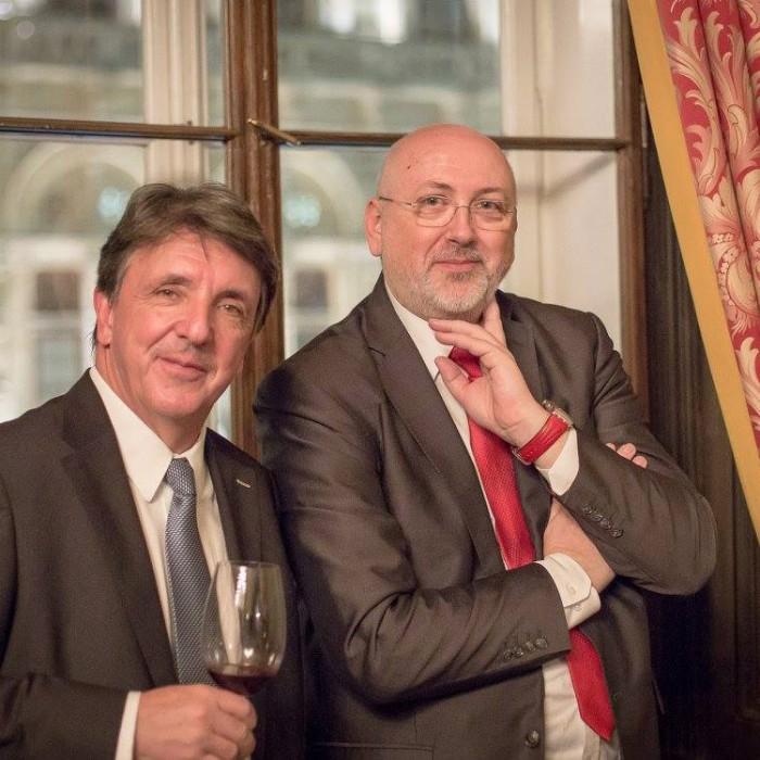 Finanzminister Hans Jörg Schelling und Chefredakteur Andreas Lampl 30
