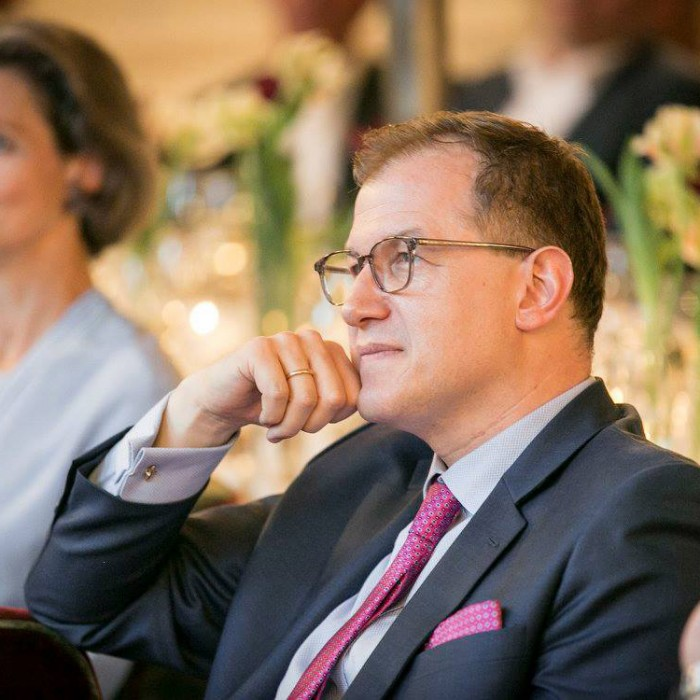 ORF-Chefredakteur Fritz Dittlbacher und ÖNB-Präsident Claus Raidl 8