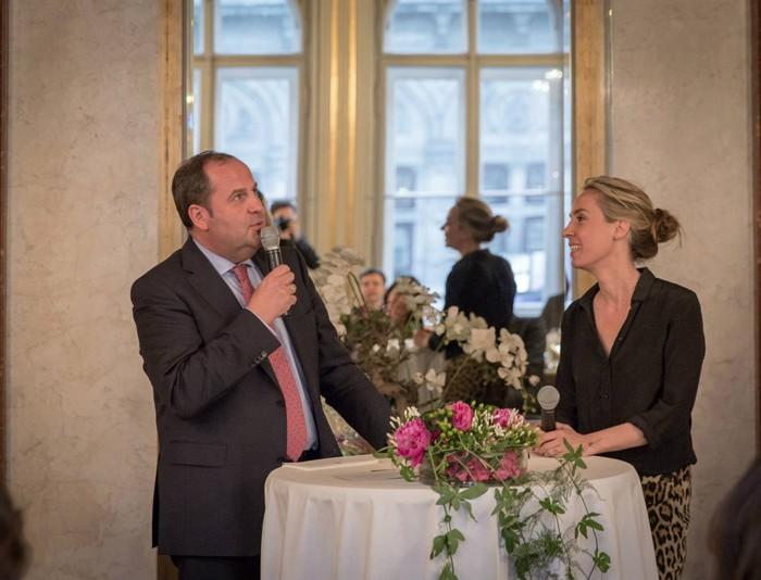 TV-Journalistin Nadja Bernhard und Ex-Finanzminister Sepp Pröll 15