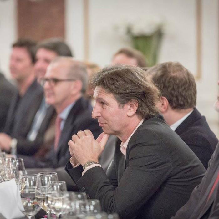 Finanzminister Hans Jörg Schelling und Chefredakteur Andreas Lampl 29
