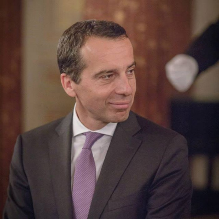 Rainer Nowak und CEO der ÖBB Christian Kern 22