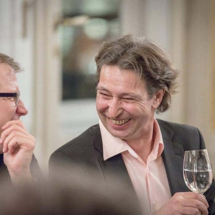 Finanzminister Hans Jörg Schelling und Chefredakteur Andreas Lampl 28