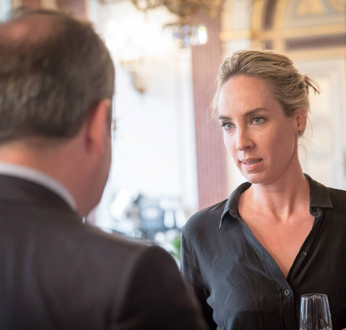 TV-Journalistin Nadja Bernhard und Ex-Finanzminister Sepp Pröll 12