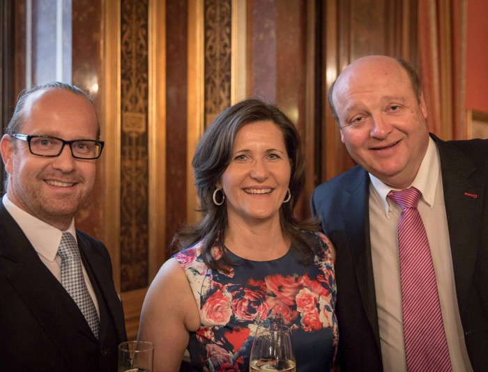 TV-Journalistin Nadja Bernhard und Ex-Finanzminister Sepp Pröll 29