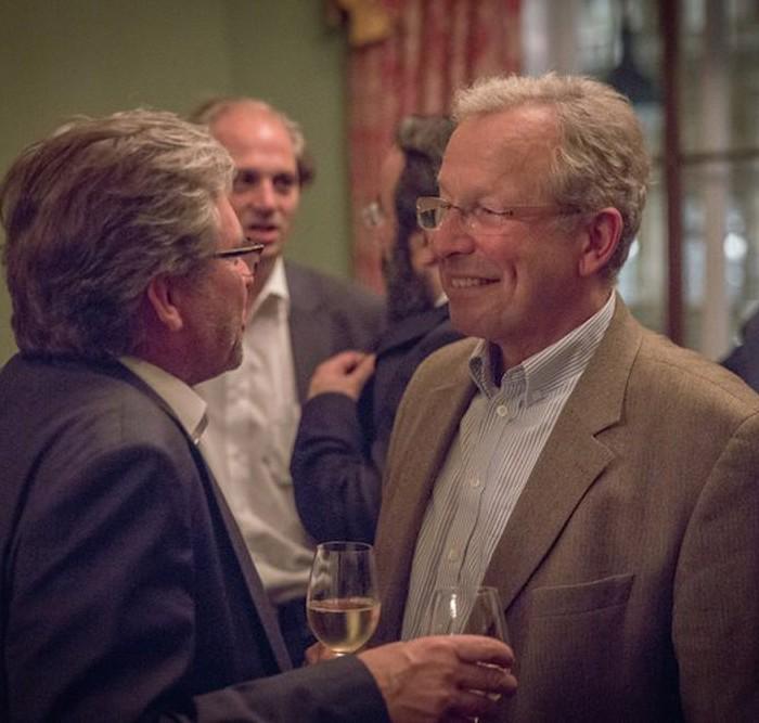 Profil-Herausgeber Christian Rainer und ORF-Generaldirektor Alexander Wrabetz 7