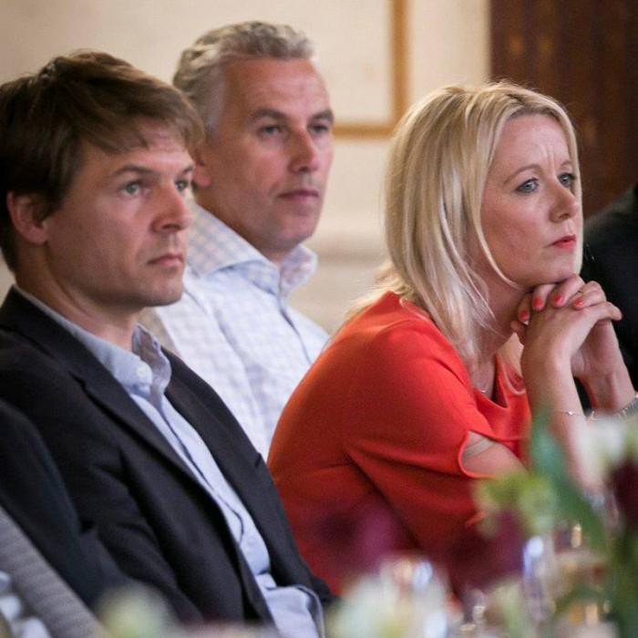 ORF-Chefredakteur Fritz Dittlbacher und ÖNB-Präsident Claus Raidl 4