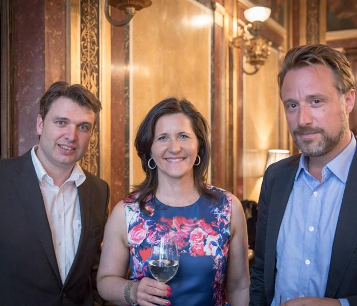 TV-Journalistin Nadja Bernhard und Ex-Finanzminister Sepp Pröll 11