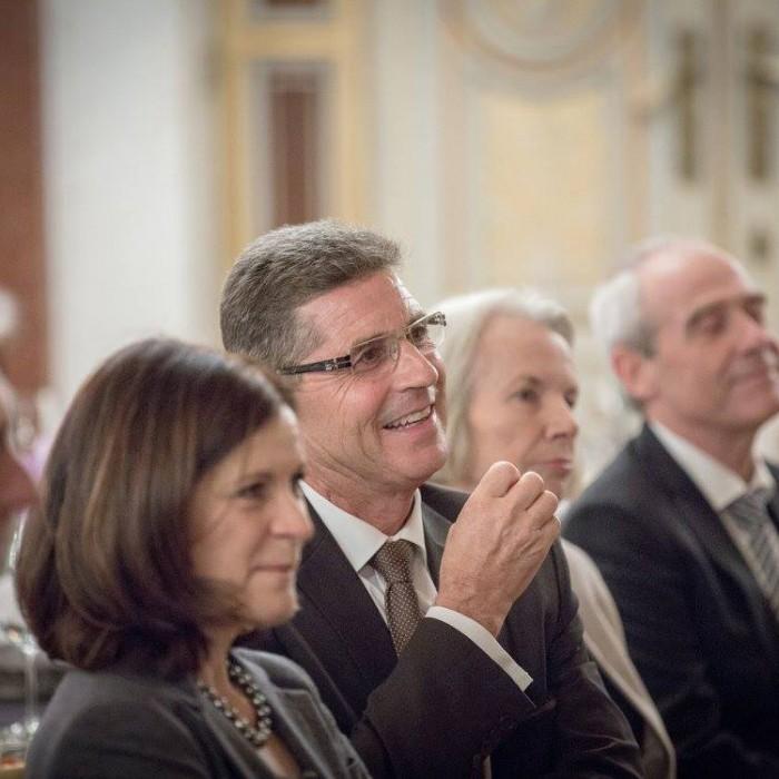 Finanzminister Hans Jörg Schelling und Chefredakteur Andreas Lampl 25