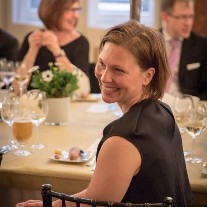 TV-Journalistin Nadja Bernhard und Ex-Finanzminister Sepp Pröll 10