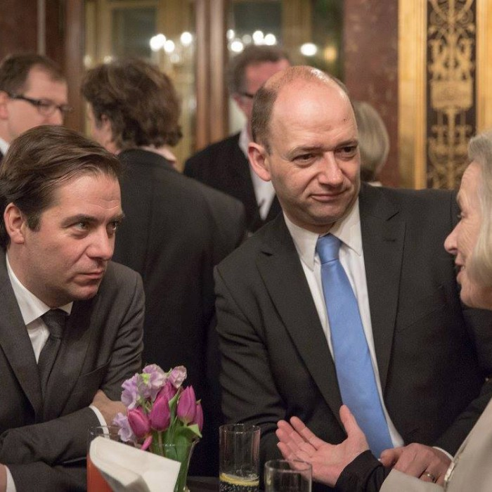 Finanzminister Hans Jörg Schelling und Chefredakteur Andreas Lampl 23