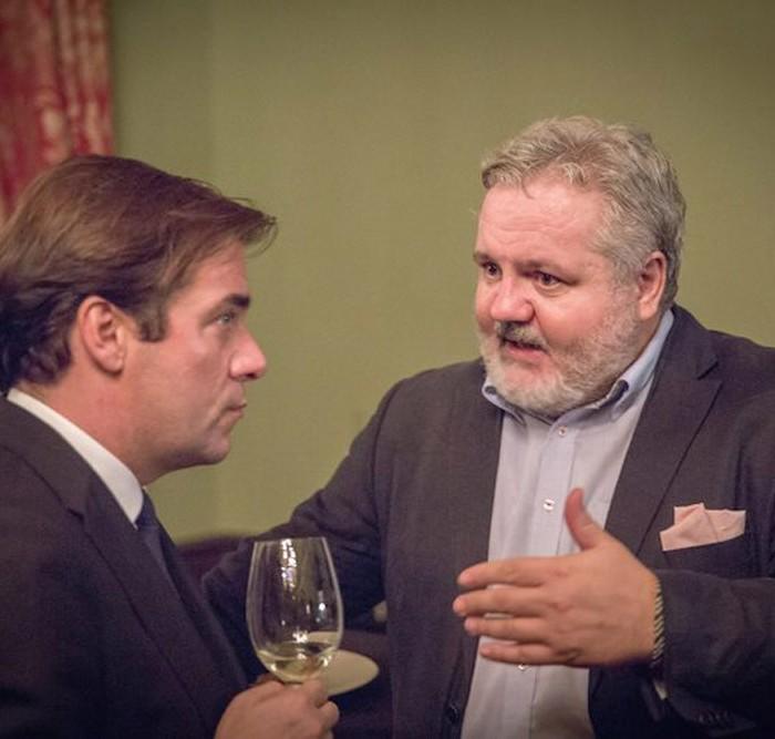 Profil-Herausgeber Christian Rainer und ORF-Generaldirektor Alexander Wrabetz 3