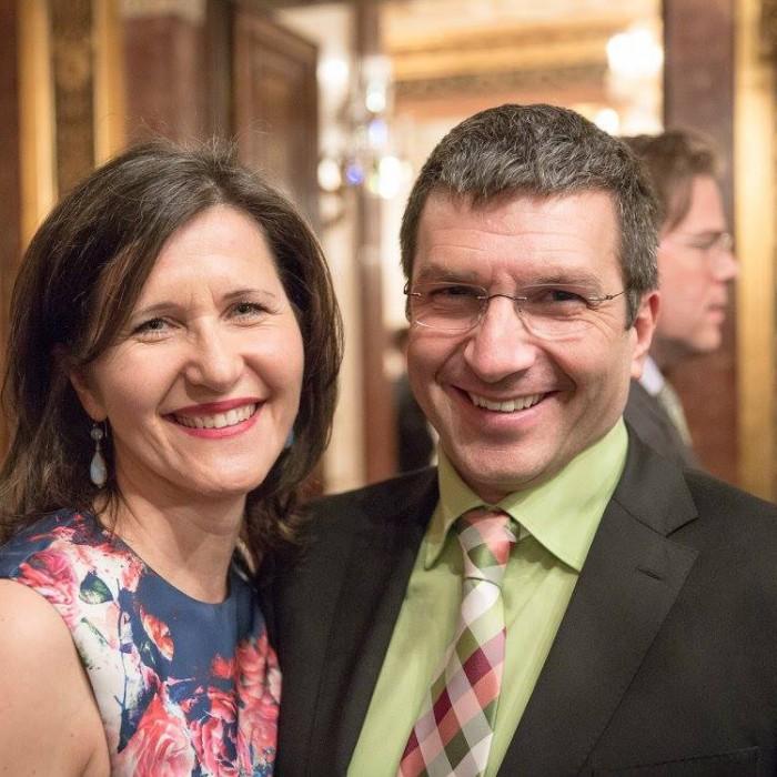 Finanzminister Hans Jörg Schelling und Chefredakteur Andreas Lampl 21