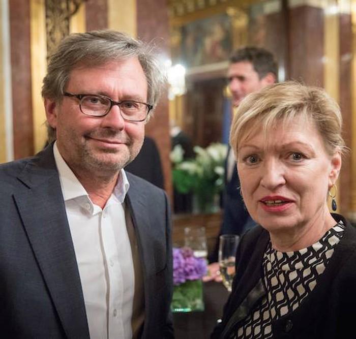 Profil-Herausgeber Christian Rainer und ORF-Generaldirektor Alexander Wrabetz 1