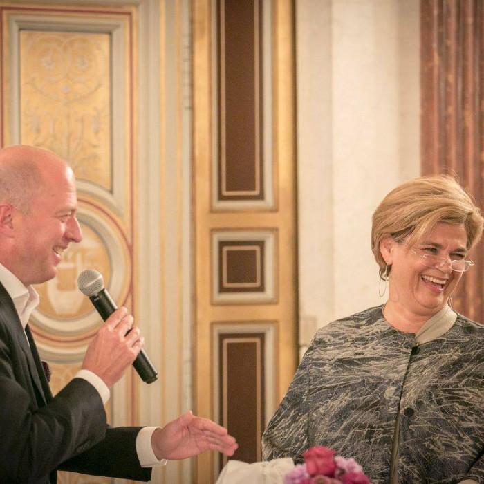 Bettina Glatz-Kremsner und Andreas Weber 6