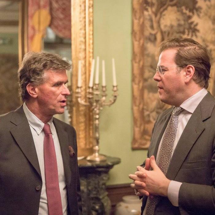 Finanzminister Hans Jörg Schelling und Chefredakteur Andreas Lampl 42