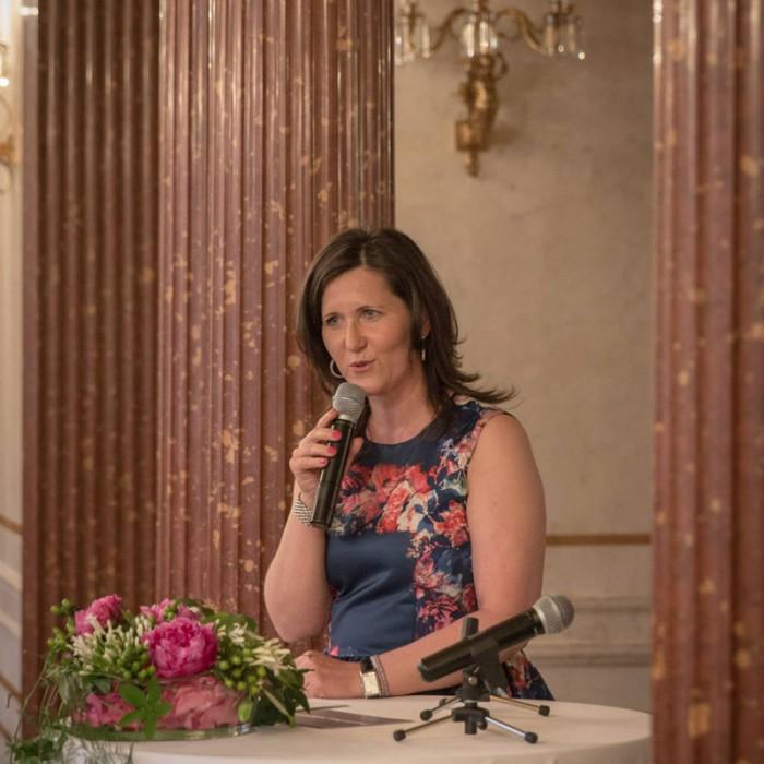 TV-Journalistin Nadja Bernhard und Ex-Finanzminister Sepp Pröll 1
