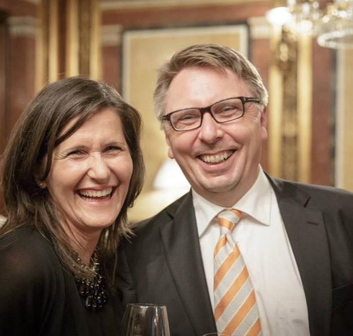 Rainer Nowak und CEO der ÖBB Christian Kern 8