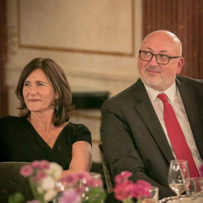 Bettina Glatz-Kremsner und Andreas Weber 1