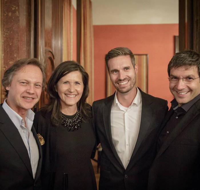 Rainer Nowak und CEO der ÖBB Christian Kern