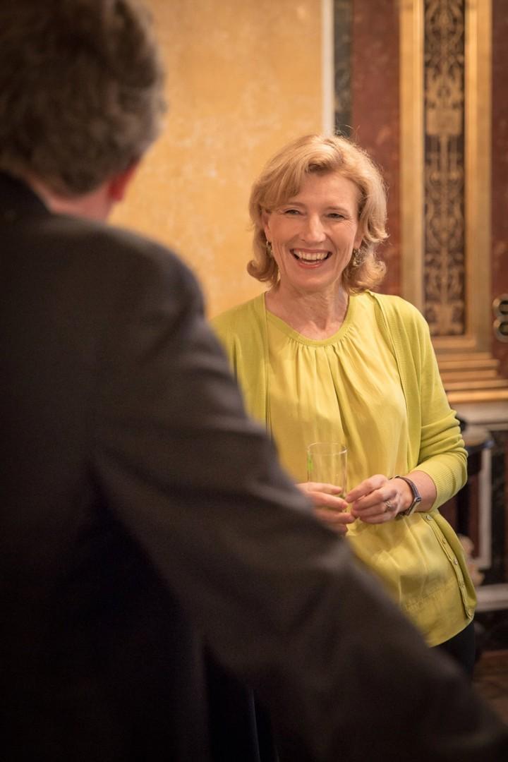 ORF-Talkerin Barbara Stöckl und Medien-Manager Gerhard Zeiler 27