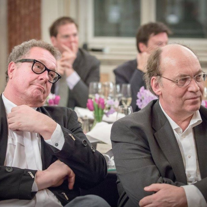 Finanzminister Hans Jörg Schelling und Chefredakteur Andreas Lampl 38