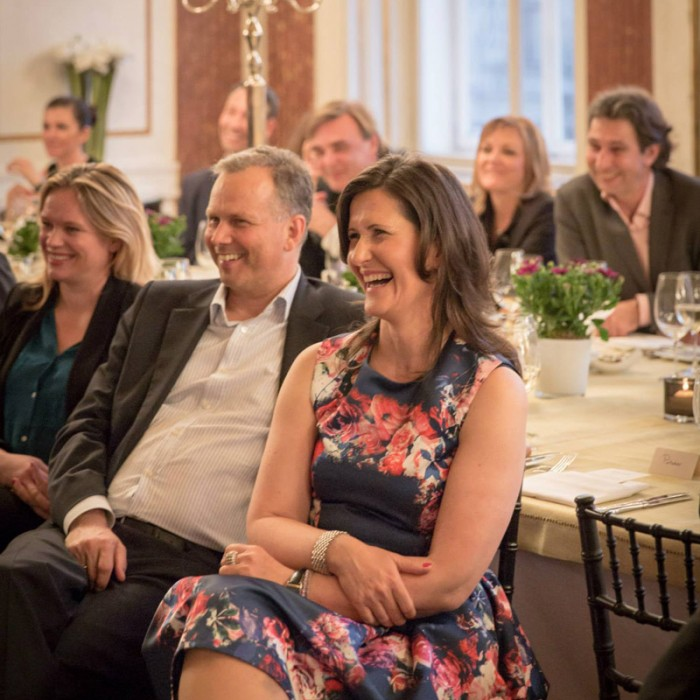TV-Journalistin Nadja Bernhard und Ex-Finanzminister Sepp Pröll 22