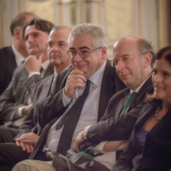 Rainer Nowak und CEO der ÖBB Christian Kern 30
