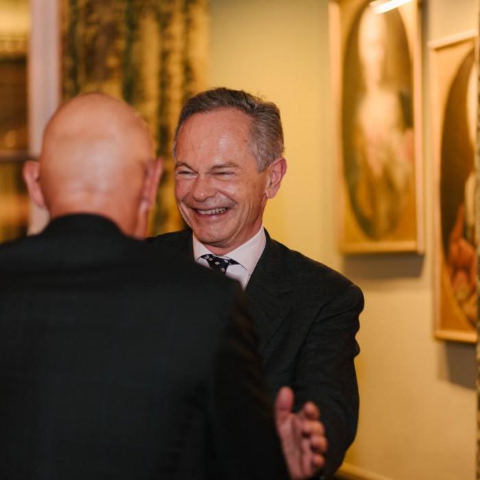 Dr. Georg Wailand und Bundesminister Hartwig Löger 8