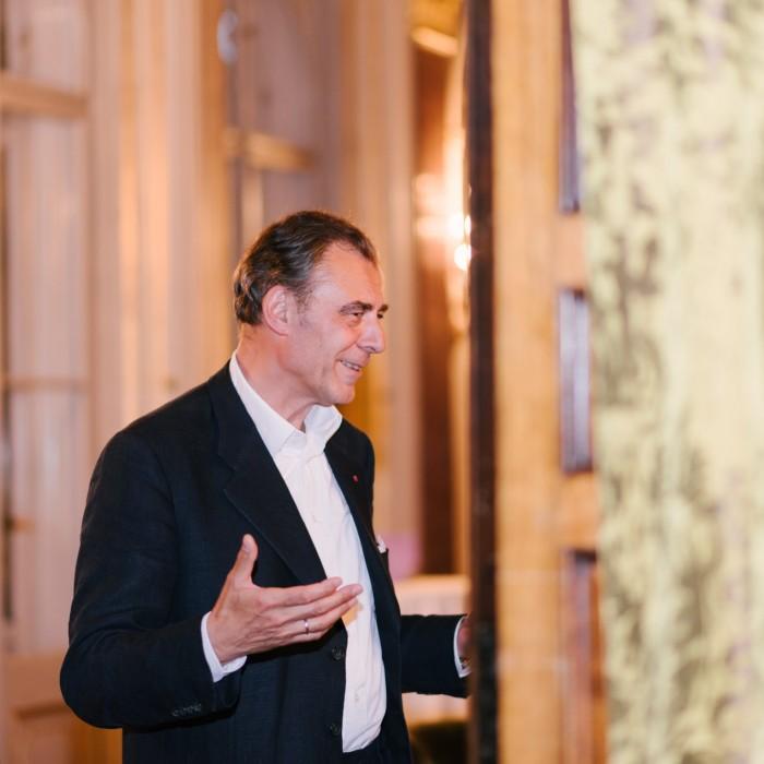 Heute-Chefredakteur Dr. Christian Nusser und Bürgermister Dr. Michael Ludwig 20