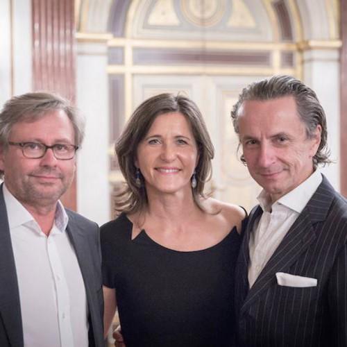 Profil-Herausgeber Christian Rainer und ORF-Generaldirektor Alexander Wrabetz 27
