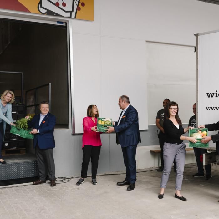 Wiener Tafel eröffnet neue Lebensmittelzentrale 9