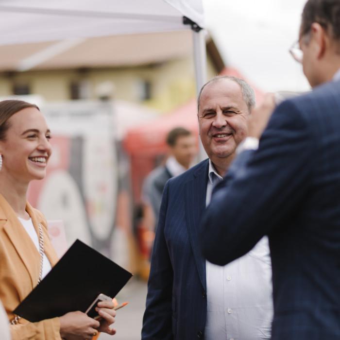Wiener Tafel eröffnet neue Lebensmittelzentrale 3