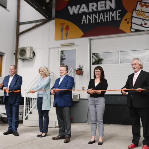 Wiener Tafel eröffnet neue Lebensmittelzentrale