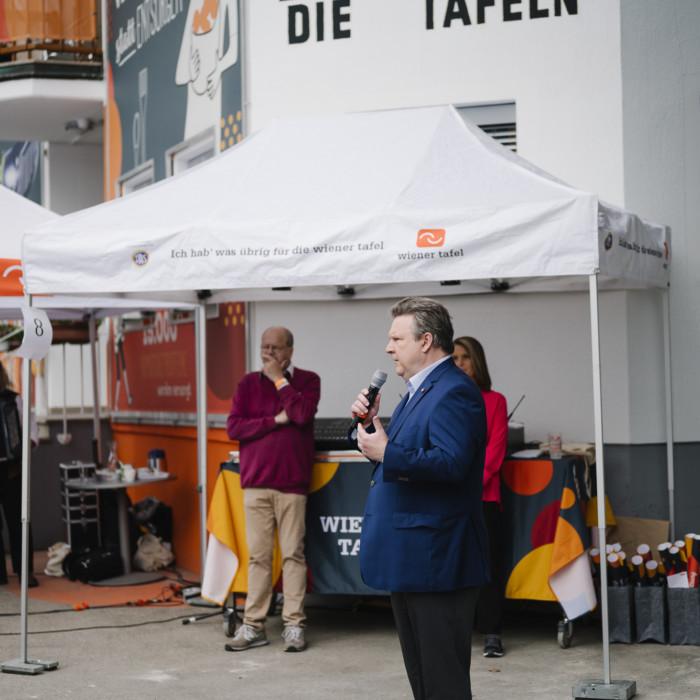 Wiener Tafel eröffnet neue Lebensmittelzentrale 5