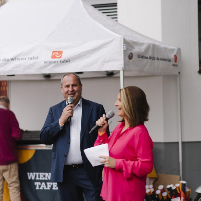 Wiener Tafel eröffnet neue Lebensmittelzentrale 6