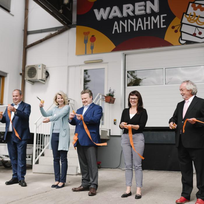 Wiener Tafel eröffnet neue Lebensmittelzentrale 8
